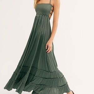 """Free People """"Extratropical Shiny Dress"""""""